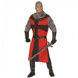 Disfraz de caballero medieval para hombre talla grande - Imagen 1