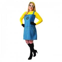 Disfraz de Minion Gru mi villano favorito para mujer talla grande - Imagen 1