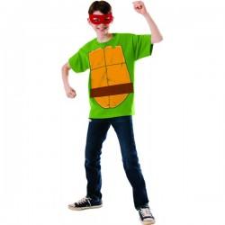 Kit disfraz de Raphael Las Tortugas Ninja para niño - Imagen 1