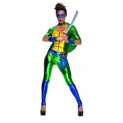 Disfraz de Leonardo Las Tortugas Ninja para mujer - Imagen 1