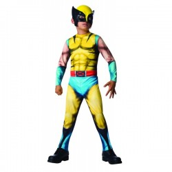 Disfraz de Lobezno Marvel para niño - Imagen 1