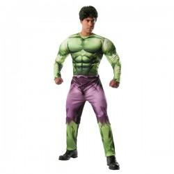 Disfraz de Hulk Marvel deluxe para adulto - Imagen 1