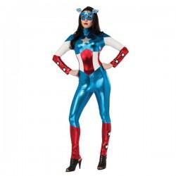Disfraz de Capitán América Marvel para mujer - Imagen 1