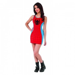 Vestido disfraz Spidergirl Marvel classic para mujer - Imagen 1