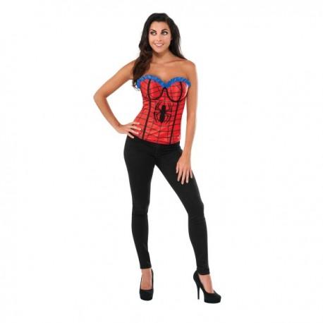 Corsé Spidergirl Marvel classic para mujer - Imagen 1