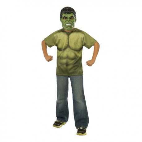 Kit disfraz Hulk Vengadores: La Era de Ultrón para niño - Imagen 1