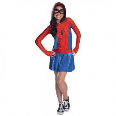 Disfraz de Spidergirl para niña - Imagen 1