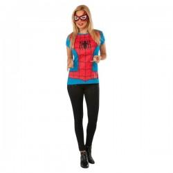 Kit disfraz de Spidergirl Classic Marvel para mujer - Imagen 1