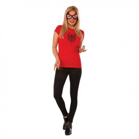 Kit disfraz de Spidergirl Marvel para mujer - Imagen 1