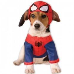Disfraz de Spiderman para perro - Imagen 1
