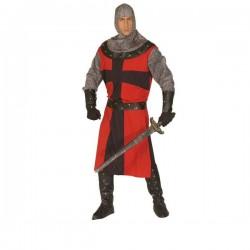 Disfraz de caballero de época oscura para hombre - Imagen 1