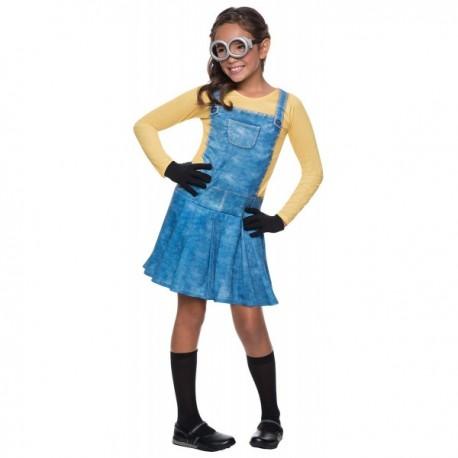 Disfraz de Minions para niña - Imagen 1