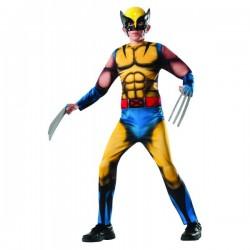 Disfraz de Lobezno Marvel deluxe para niño - Imagen 1