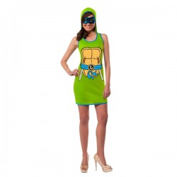 Vestido de Leonardo Las Tortugas Ninja para mujer - Imagen 1