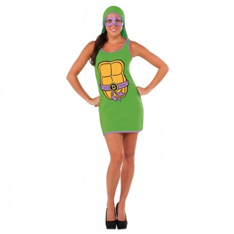 Vestido de Donatello Las Tortugas Ninja para mujer - Imagen 1