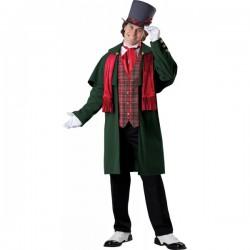 Disfraz de Mister Navidad para hombre - Imagen 1