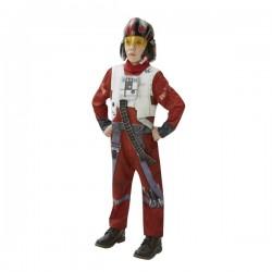 Disfraz de Piloto X-Wing Star Wars Episodio 7 deluxe para niño - Imagen 1