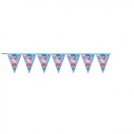 Banderín decorativo de Peppa Pig - Imagen 1