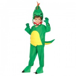 Disfraz de dinosaurio infantil - Imagen 1