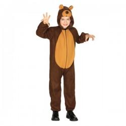 Disfraz de oso feroz infantil - Imagen 1