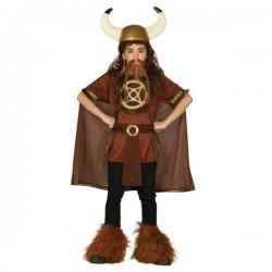 Disfraz de vikingo salvaje para niño - Imagen 1