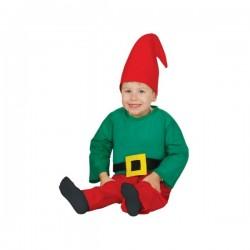 Disfraz de enanito feliz para bebé - Imagen 1