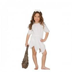 Disfraz de cavernícola guapa para niña - Imagen 1