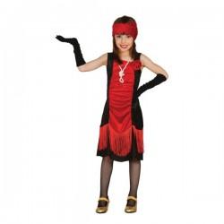 Disfraz de charlestón elegante para niña - Imagen 1