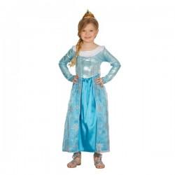 Disfraz de princesa de hielo para niña - Imagen 1