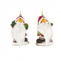 Figura decorativa de Papá Noel 7,5 cm - Imagen 1