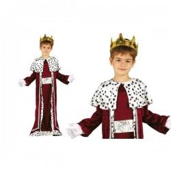 Disfraz de rey mago Gaspar para niño - Imagen 1