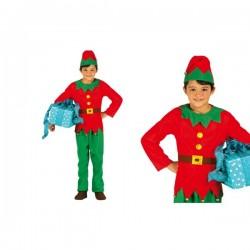 Disfraz de elfo elegante para niño - Imagen 1