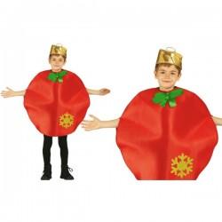 Disfraz de bola de navidad para niño - Imagen 1