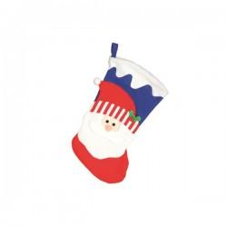 Bota azul de Papá Noel 47 cm - Imagen 1