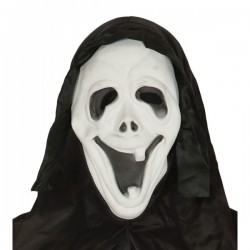 Careta de Scream sonriente con capucha - Imagen 1