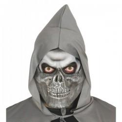 Media máscara de esqueleto secta - Imagen 1