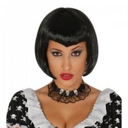 Peluca de bruja a la moda para mujer - Imagen 1