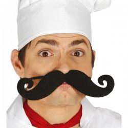 Bigote de cocinero elástico - Imagen 1