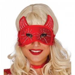 Antifaz de diablesa para mujer - Imagen 1