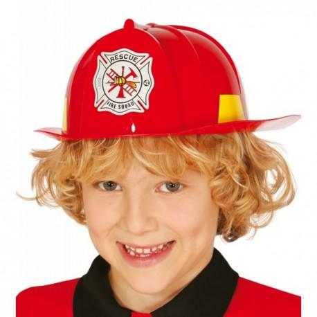 Casco de bombero valiente para niño - Imagen 1