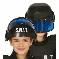 Casco S.W.A.T. para niño - Imagen 1