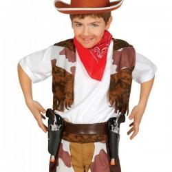 Cartuchera doble con pistolas para niño - Imagen 1