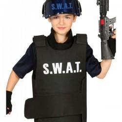 Chaleco de S.W.A.T. para niño - Imagen 1