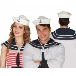 Kit disfraz de marinero unisex - Imagen 1