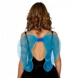 Alas de ángel azul para mujer - Imagen 1