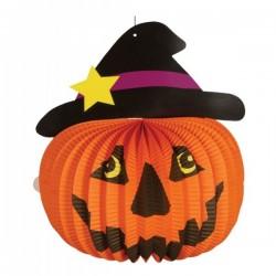 Farol de calabaza Halloween - Imagen 1