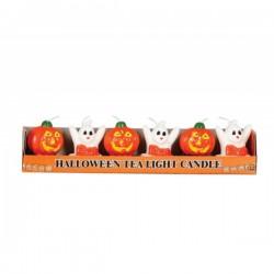 Set de 6 velas Halloween - Imagen 1