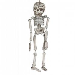 Colgante decorativo de esqueleto cabezón - Imagen 1