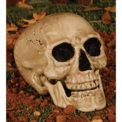 Figura decorativa calavera de cementerio - Imagen 1