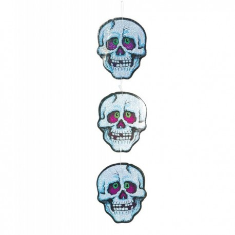 Calaveras decorativas de Halloween - Imagen 1